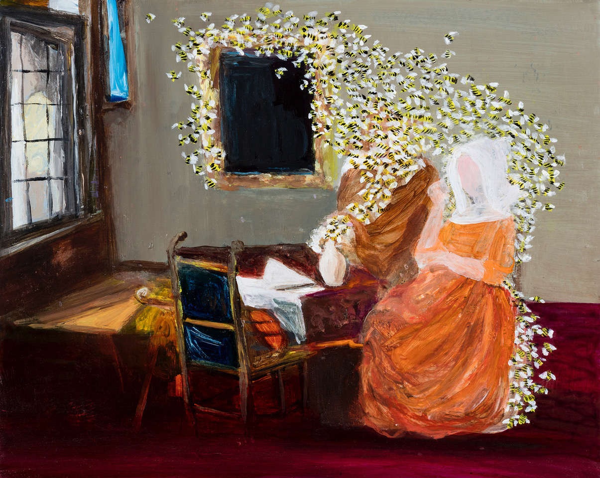 Family Matters 16 (after Johannes Vermeer)