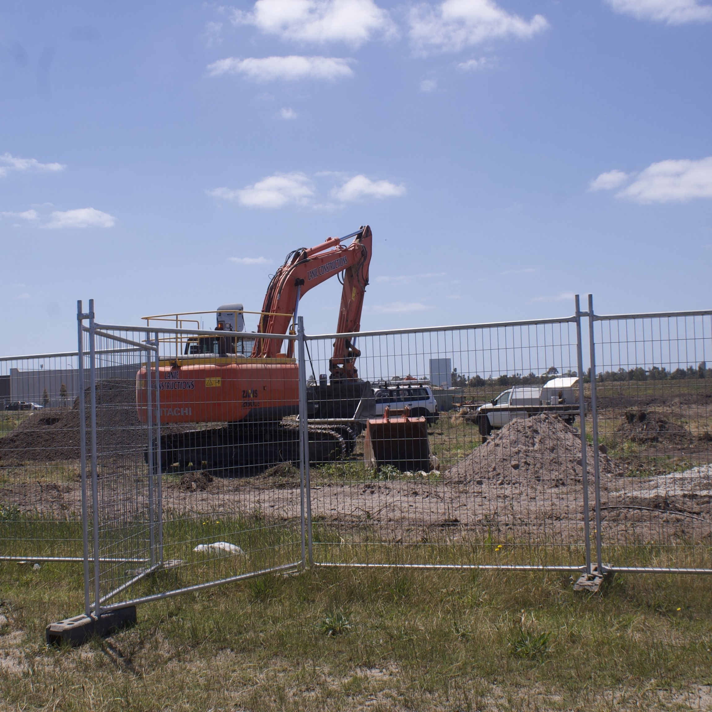 works are underway at our Perry Rd site