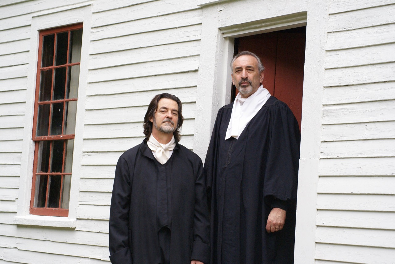 Douglas Brendel as Nathaniel Saltonstall and Les Tarmy as Reverend John Ward. At the  John Ward  home in Haverhill, MA