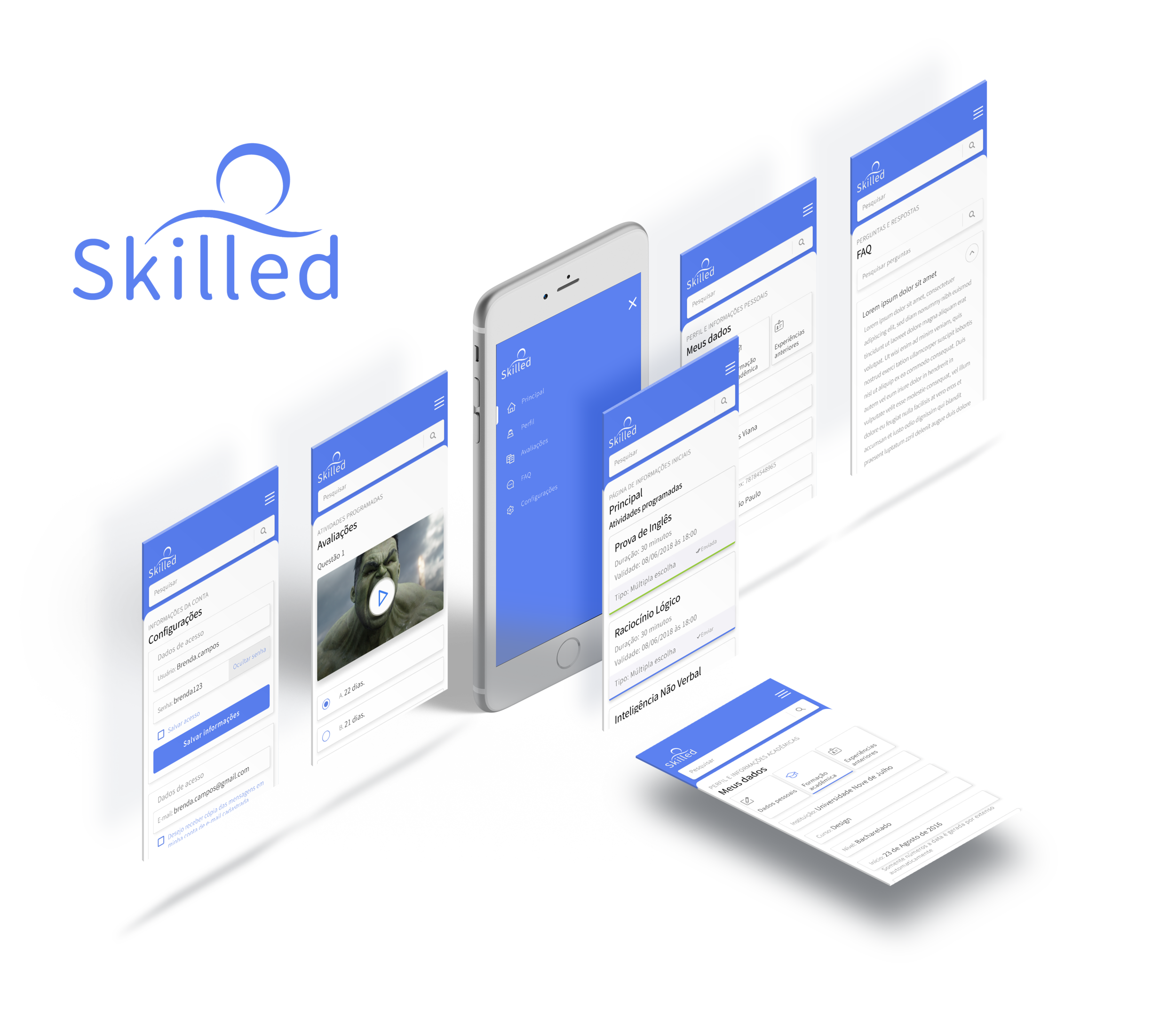 Skilled - HR selection app