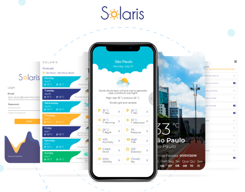 Solaris - Weather APP