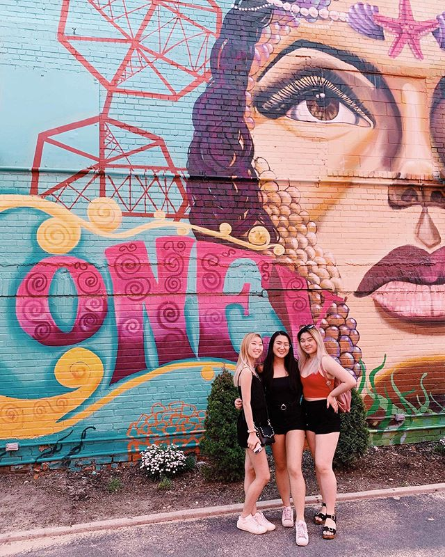 Check out some of our Alpha Zetas from their trip to Coney Island last weekend 🎡🎢! Aren't they cute 😍💓 #summerwkappas