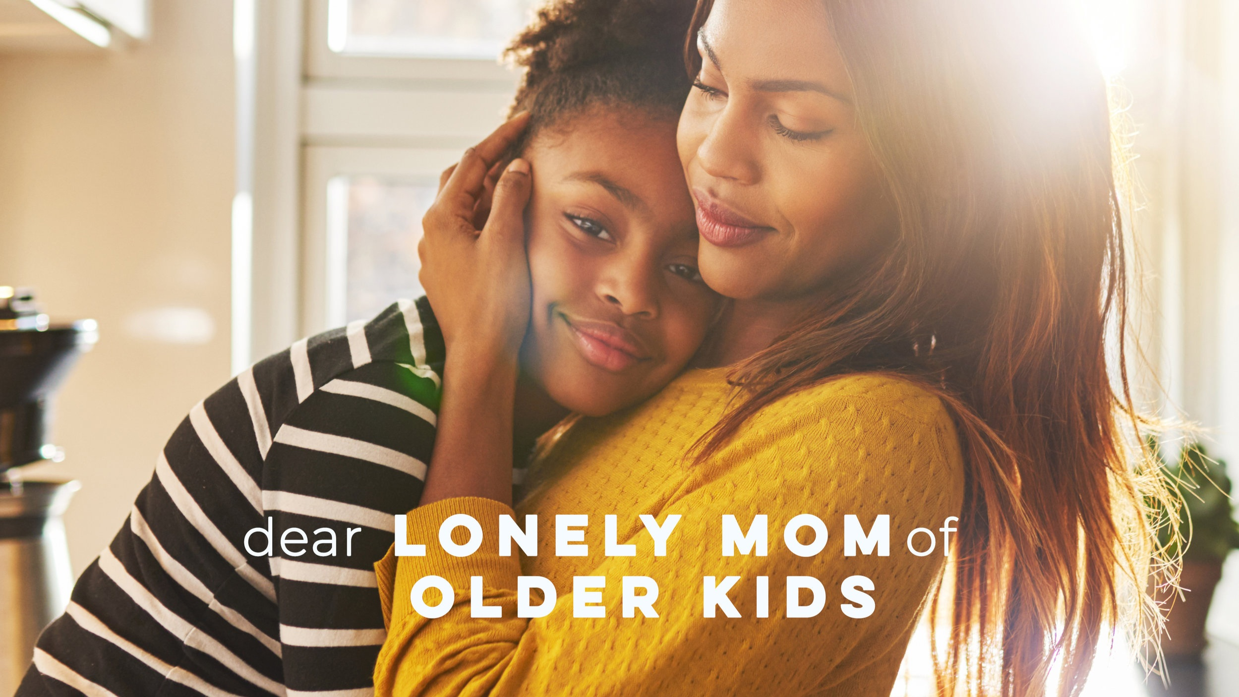 "According to results from    Cigna's U.S. Loneliness Index   , a survey of more than 20,000 American adults ages 18 and older, nearly half of Americans report sometimes or always feeling alone or left out. Last week,    Tim DeWeese shared with our START community    that Gen Z (ages 18-22) reported the highest loneliness scores…but today's guest blogger,    Rachel Anne Ridge   , reveals that teens aren't the only ones who are lonely.    For moms of older kids, ""sharenting"" on social media can be complicated, and in the void, loneliness can creep in.    If you are in this season of parenthood, we hope you are encouraged to know that you aren't alone."