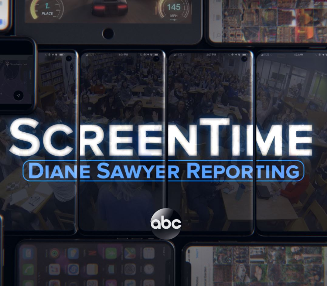 Screentime : Diane Sawyer Reporting  was a 2 hour ABC News Special Family Event. To view one of the segments where START was featured,  click here.