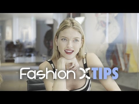 Fashion X Tips   Martha Hunt -