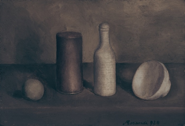 - Italian painter Giorgio Morandi