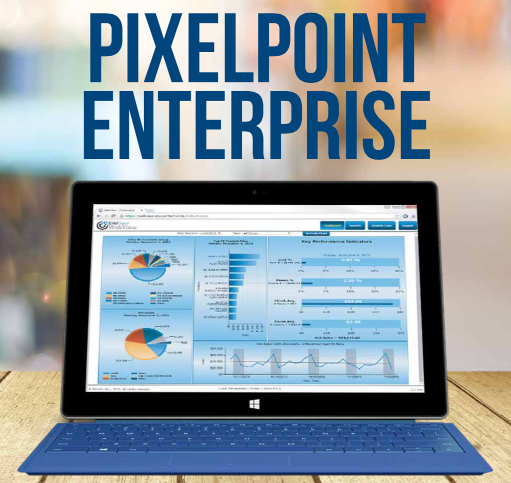 PixelPoint POS Enterprise - Manage your entire Restaurant Chain with Ease anywhere across the globe through PixelPoint Enterprise