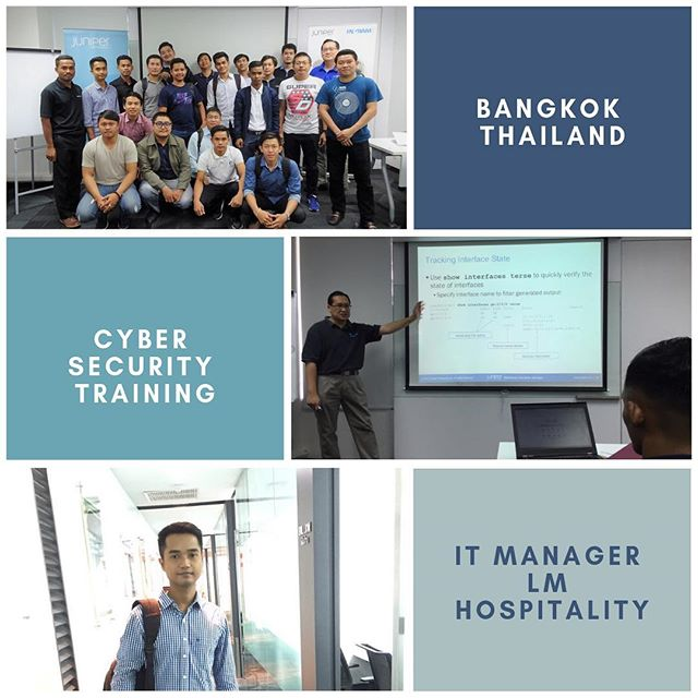 2018 recent Bangkok Thailand Cyber Security training.
