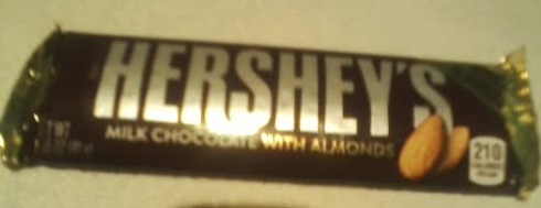 Hershey's Milk Chocolate With Almonds Front