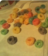 Froot Loops Cereal Spread