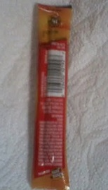 back of slim jim package