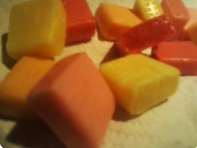 starburst close up