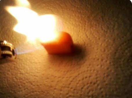 lighting starburst on fire