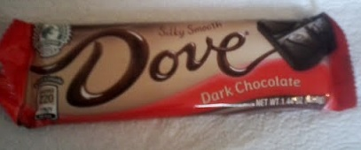Dove Dark chocolate package