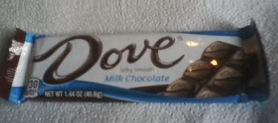 dove Milk chocolate package