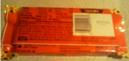 Reese's Stuffed With Pieces package back