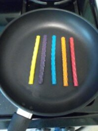 Cooking Twizzlers Straws