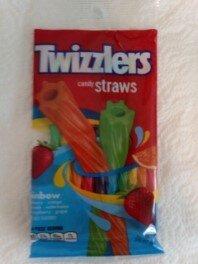 Twizzlers Straws rainbow package