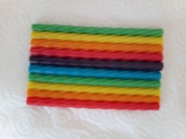Twizzlers Straws Rainbow