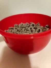 Oreo O's Cereal in bowl