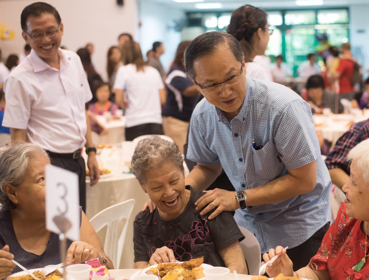 Parent's Day celebration 2016 with Grassroots Advisor, MP Lim Biow Chuan
