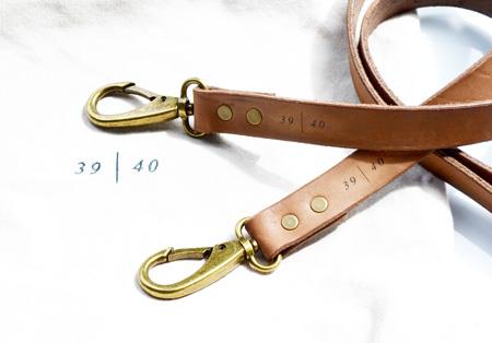 Add an additional strap …