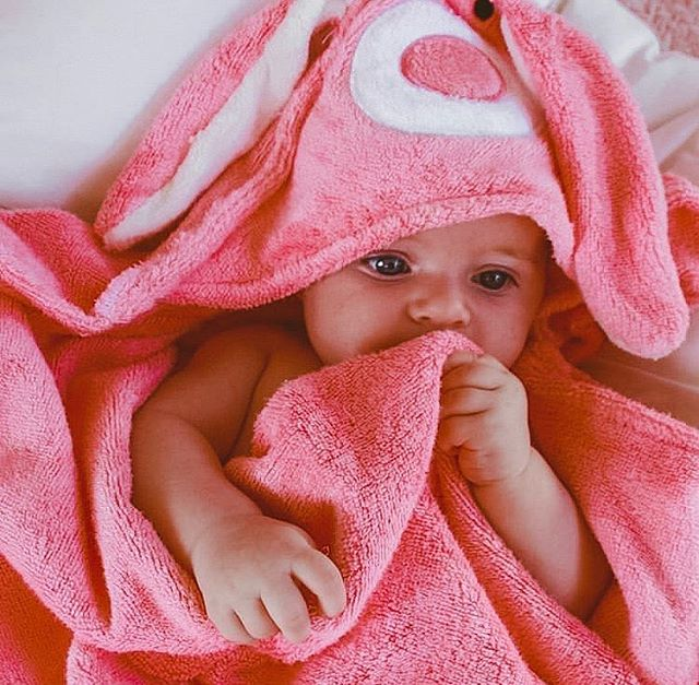 The cutest! ❤️ Easter Sale: 50% Off.  Finishes on the 21st of April! Don't miss out! Via @richendacox . . . #mibaloo #babygift #babyshower #babytowel #bamboobabytiwel #animaltowel #australiababybrand
