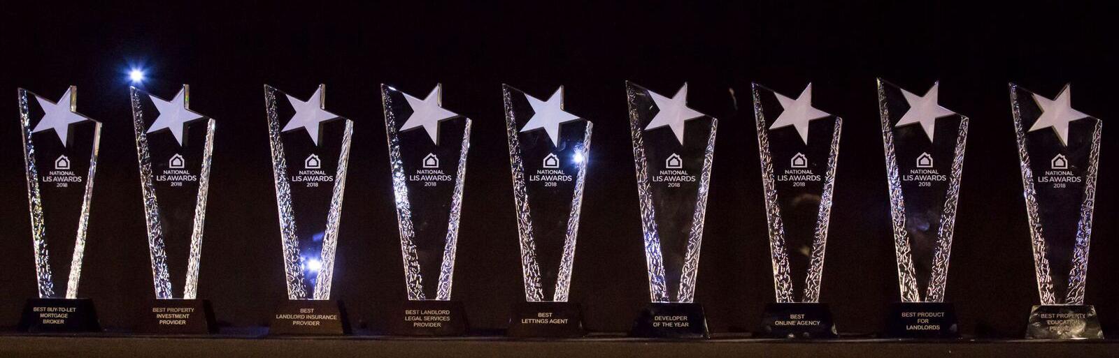 row of awards.jpg