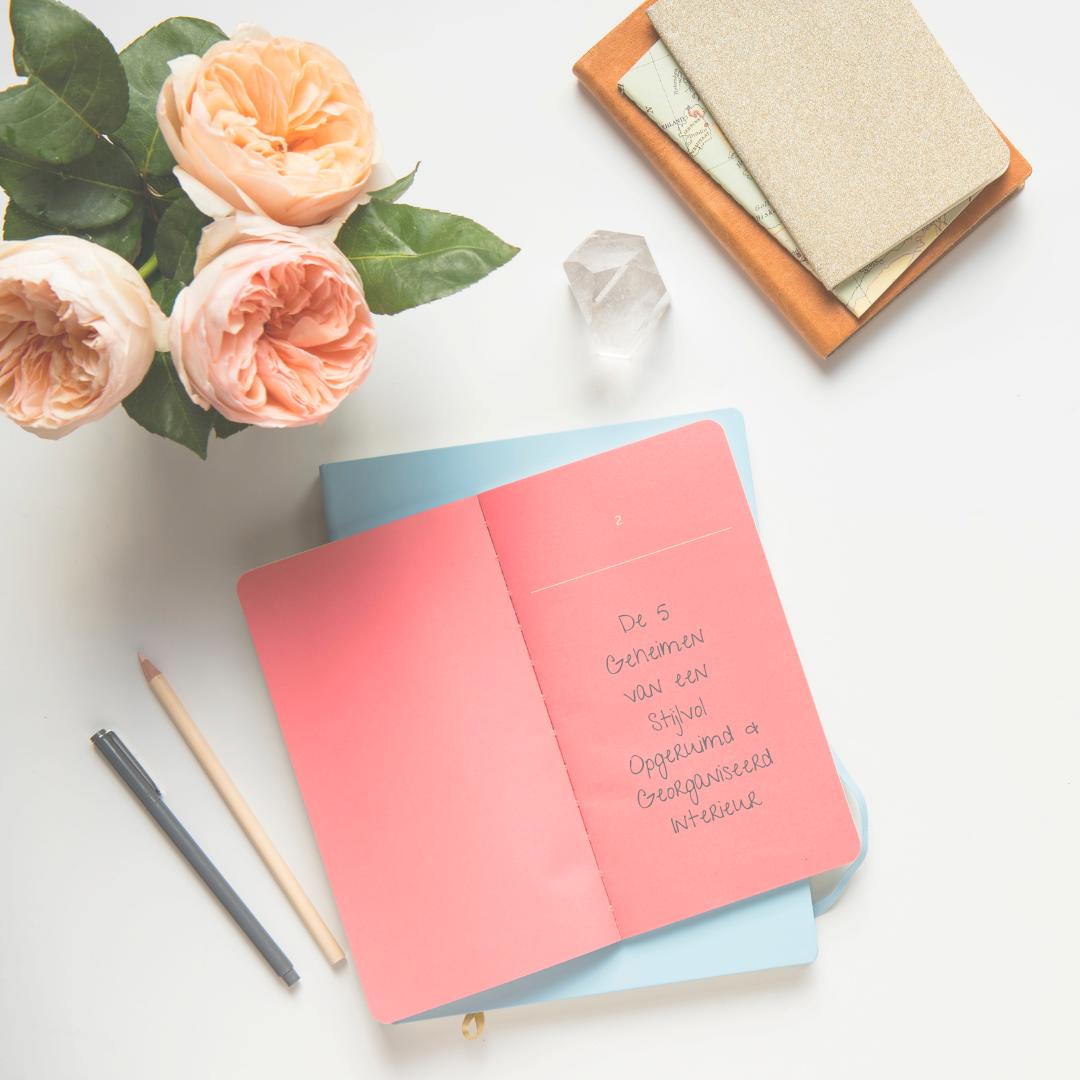 Benieuwd naar de best kept secrets van een opgeruimd, georganiseerd en rustgevend interieur? - Download mijn GRATIS gids, inclusief bonus checklist en tips!Met deze geheimen:✓ kan je altijd alles vinden✓ ben je veel minder tijd kwijt aan opruimen✓ kan jij je focussen op wat echt belangrijk is voor jou.