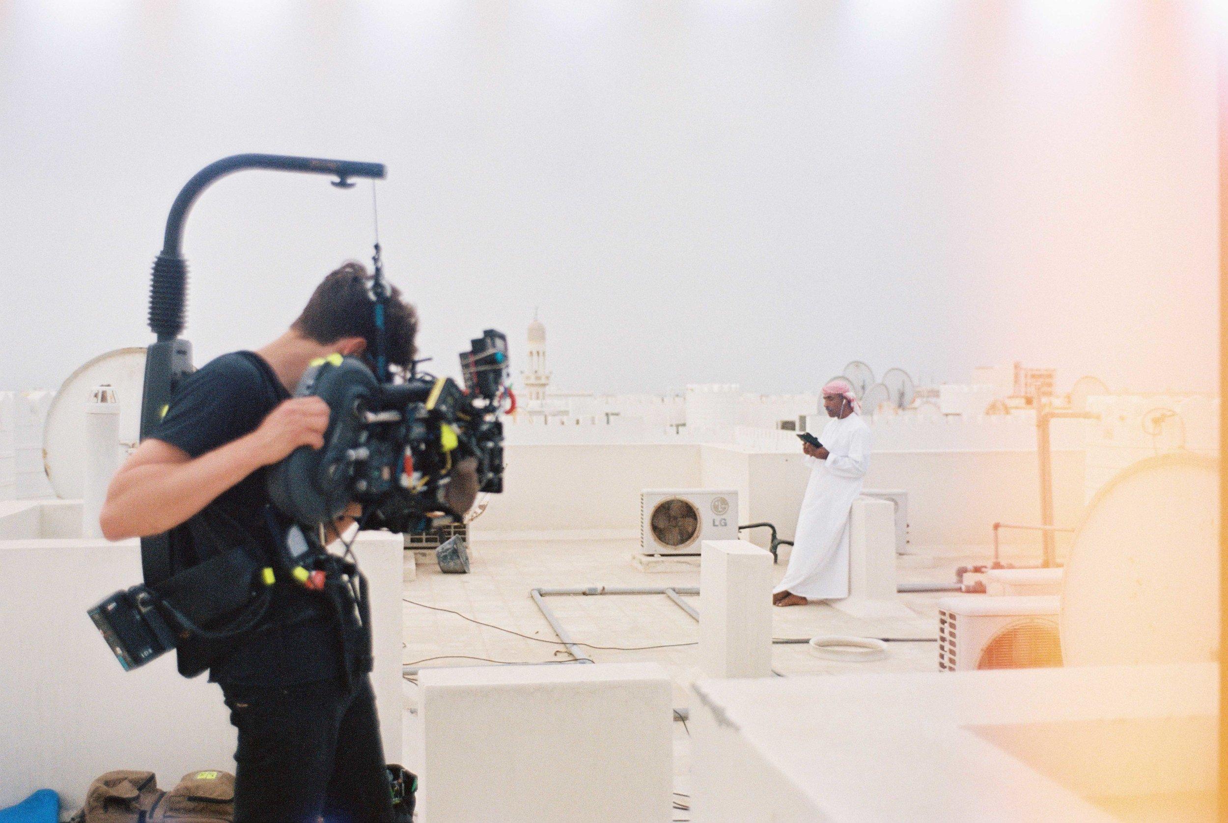 analog camera film shoot 35mm Making Of