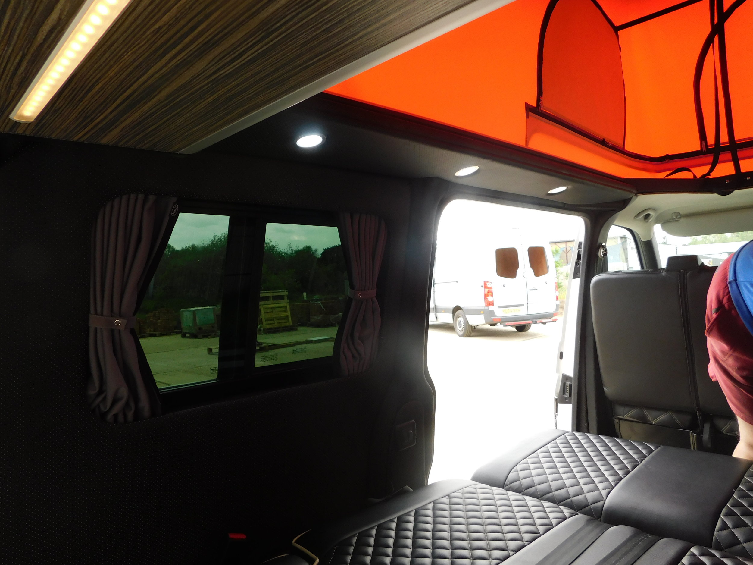 Full leather maybach with led pelmets and lights