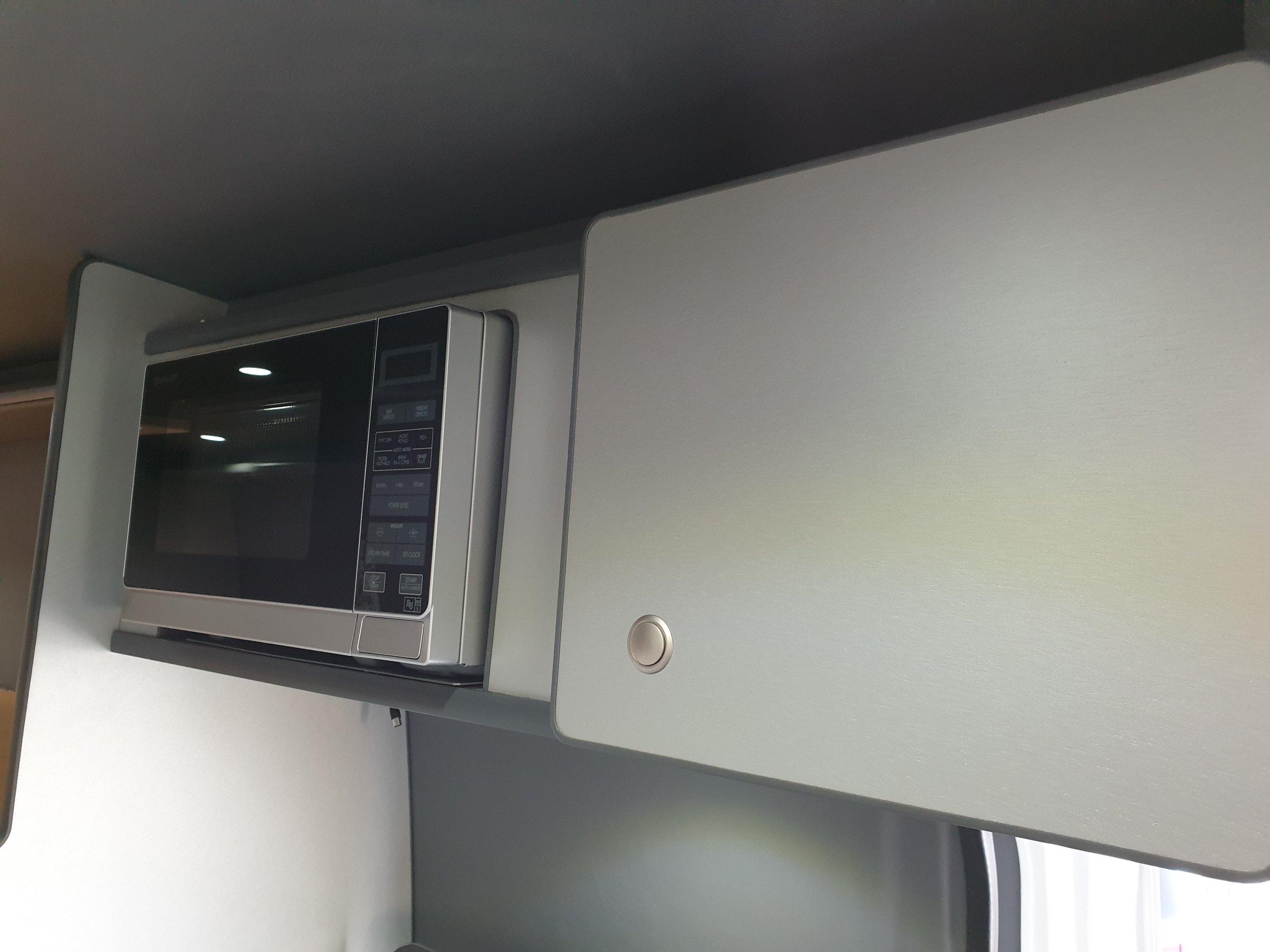 sharp microwave and storage