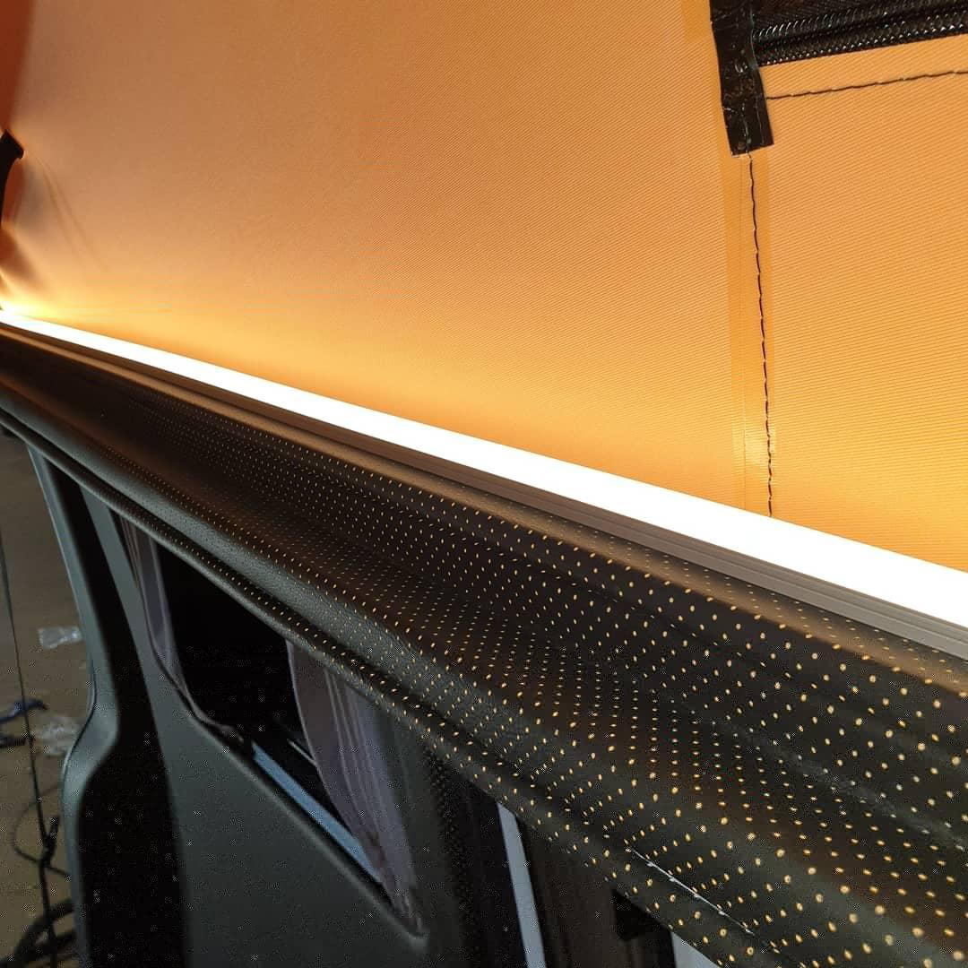 Clean white LED strips
