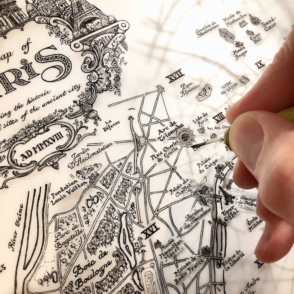 Drawing the Paris Map
