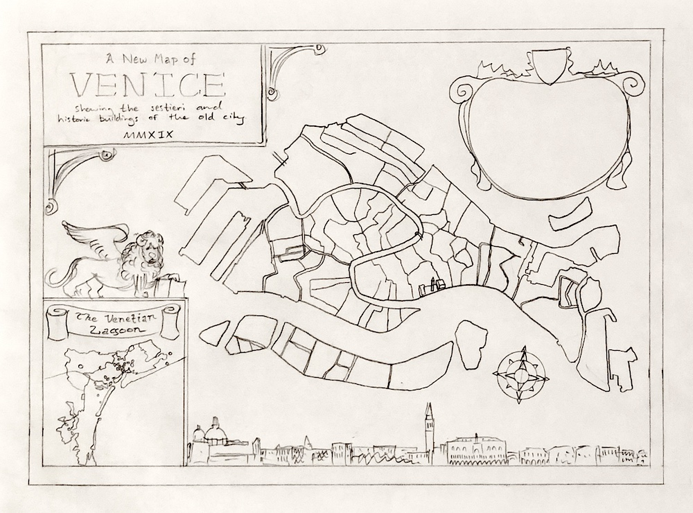 A sketch of the Venice Map layout