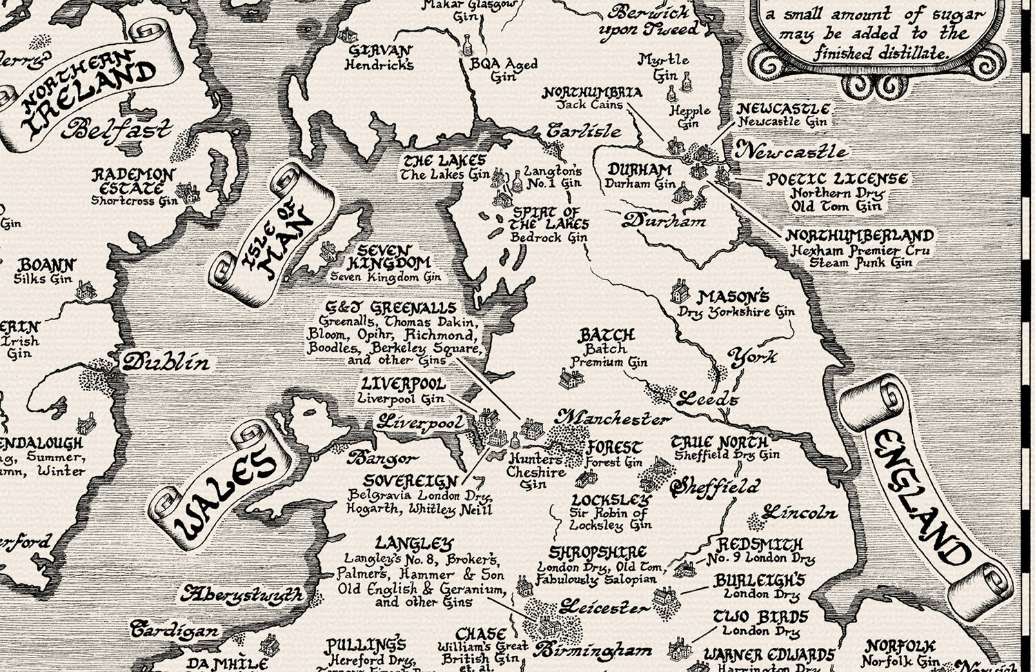 The  Gin Map