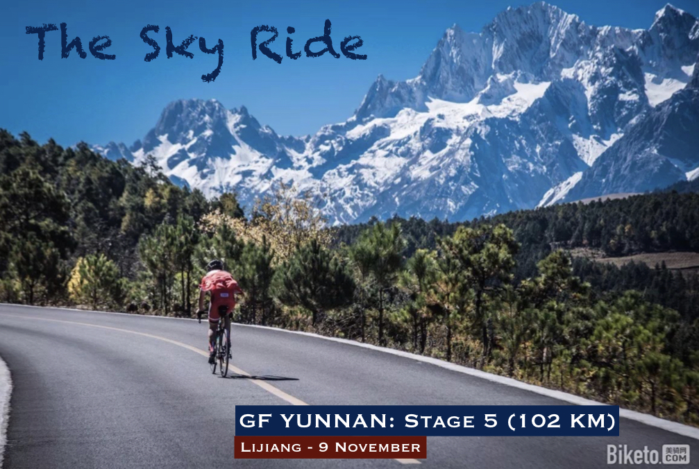 - 9 NOVEMBRE | ETAPE 5 - THE SKY RIDE