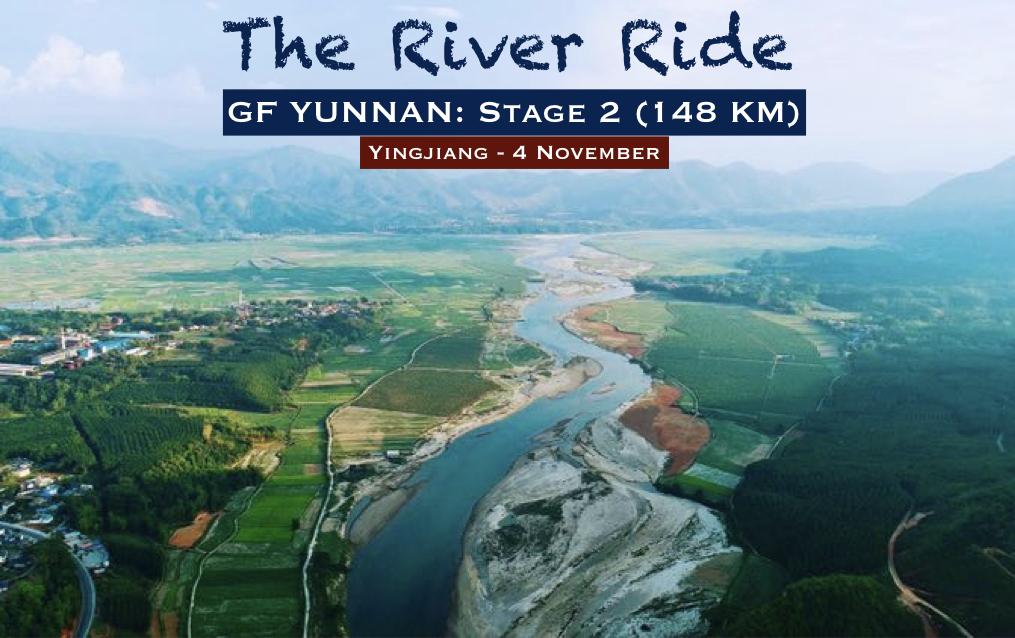 Un peu de faux plats et quelques petites ascensions à travers les villages de montagne ethniques, avant de rouler confortablement le long de la longue rivière Yingjiang. Cependant, l'arrivée se situe à Ximazhen après une longue montée!Longue distance : 155 kmCourte distance : 30 km - 4 NOVEMBRE | ETAPE 2 - Yingjiang