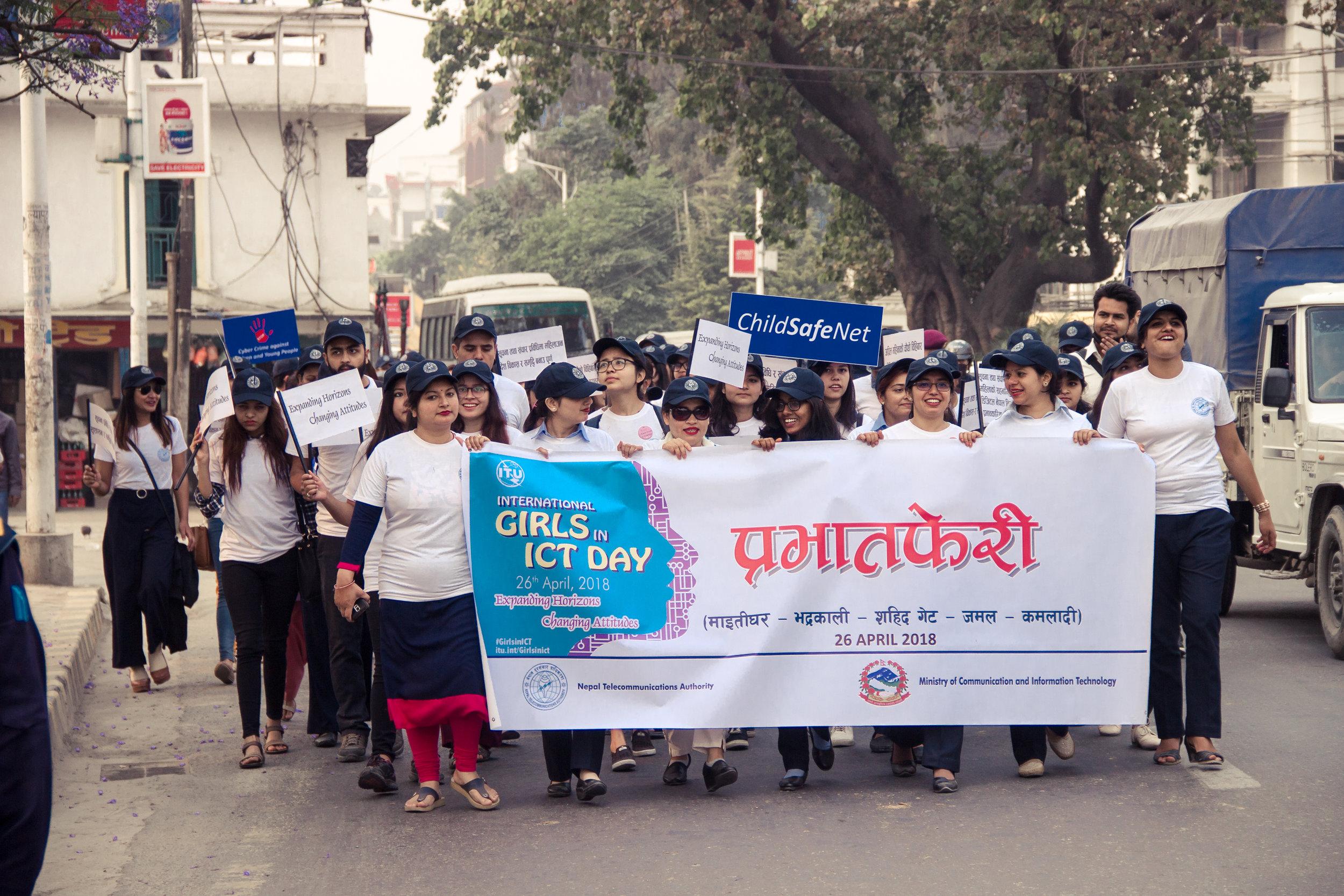 International Girls in ICT Day 2018