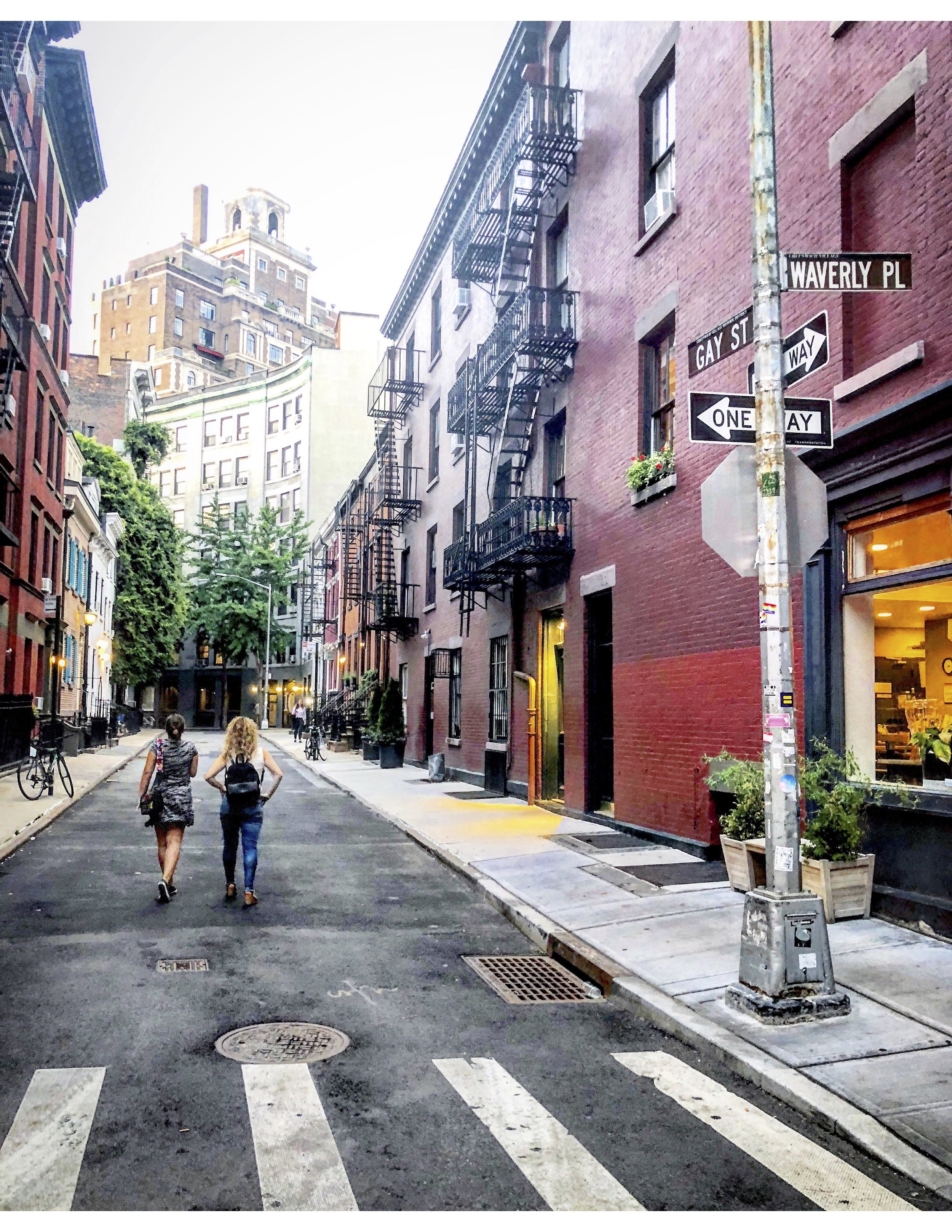 2. Gay St in the West Village - Most lists of top NYC instagram locations include the adorably curved Doyers Street in Chinatown. Well this is my plug for the equally fun curvey spot in the West Village, Gay Street, which connects Waverly Place and Christopher Street. Visit this cute street for a pic and you'll be surrounded by delicious coffee, pastries, shopping, happening restaurants and night life. The West Village is a place I once called home and continues to be my favorite neighborhood in all of NYC.