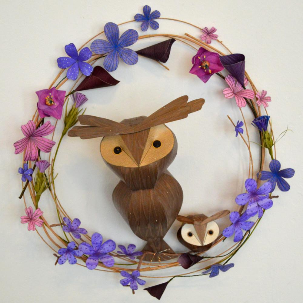 Raphael and Leo on a purple floral hoop 1.jpeg