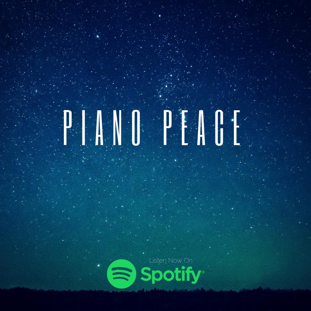 Piano Peace: A Spotify Piano Playlist