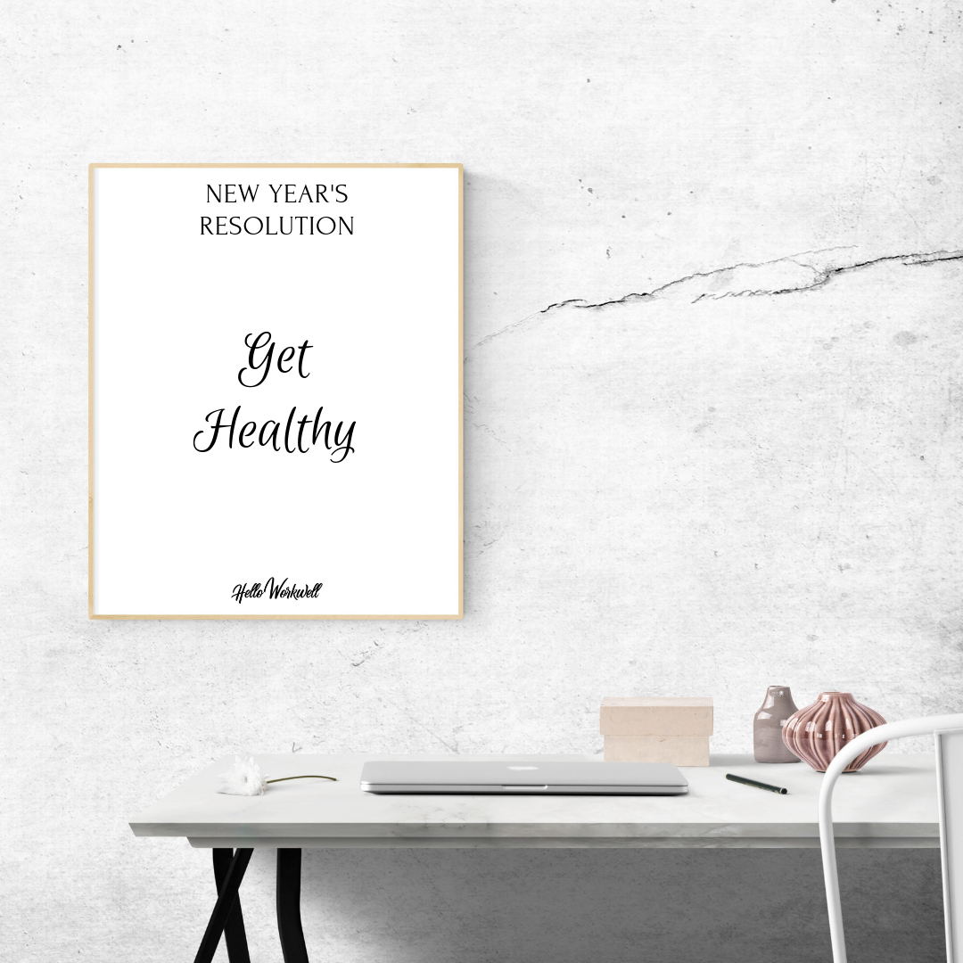 Lose Weight and Get Healthy - We're talking about losing weight when you work at a desk all day. Part two of our three part series: How to Successfully Reach Your New Year's Resolutions.