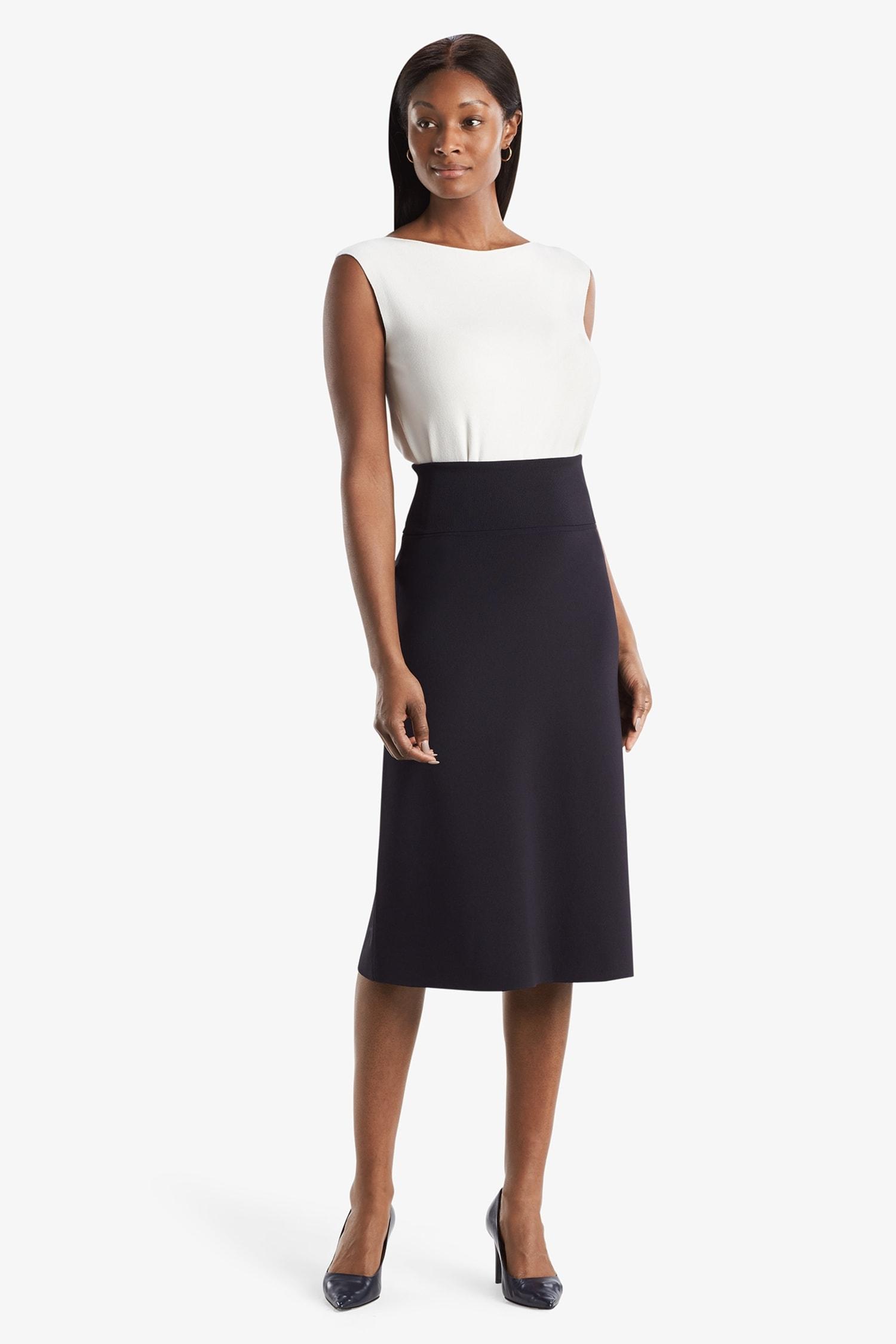 M.M. Lafleur Knit Skirt