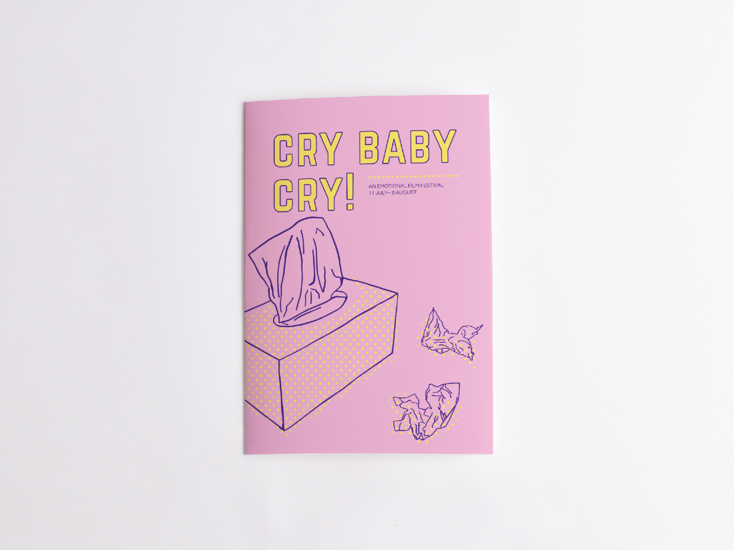 Cry Baby Cry Brochure