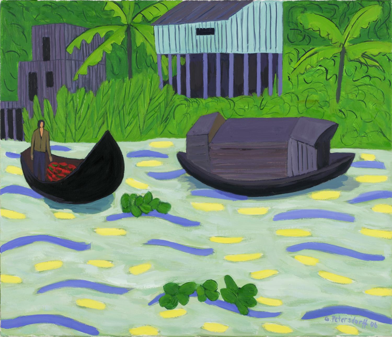 Booteauf dem Mekong I