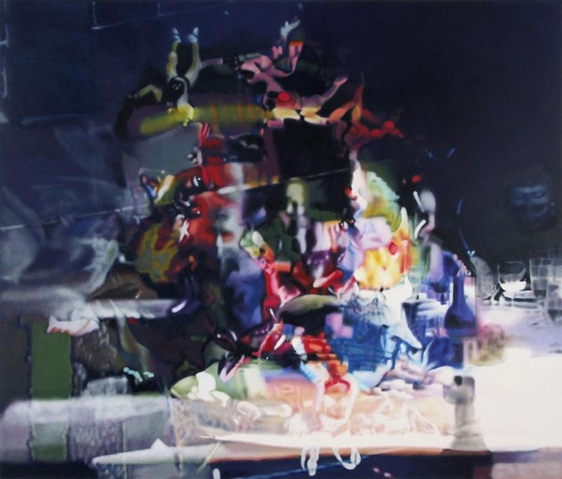 YUNUS II, 2009  oil on canvas  190 x 210 cm