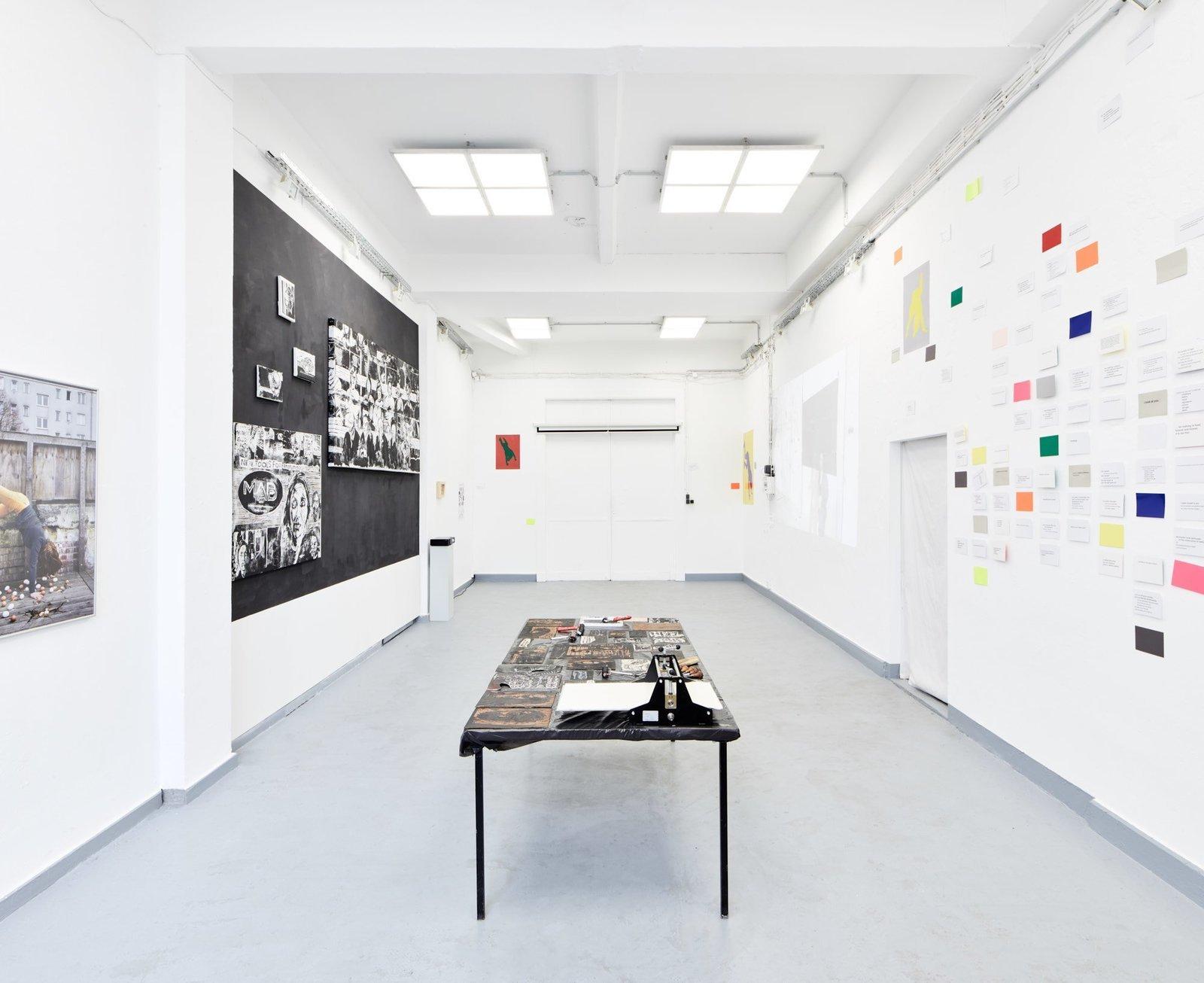 "Exhibition-view ""CTRL + ALT + DEL She said"""