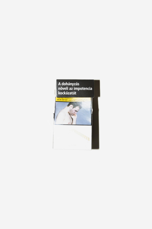 Ungarische Zigarettenpackung