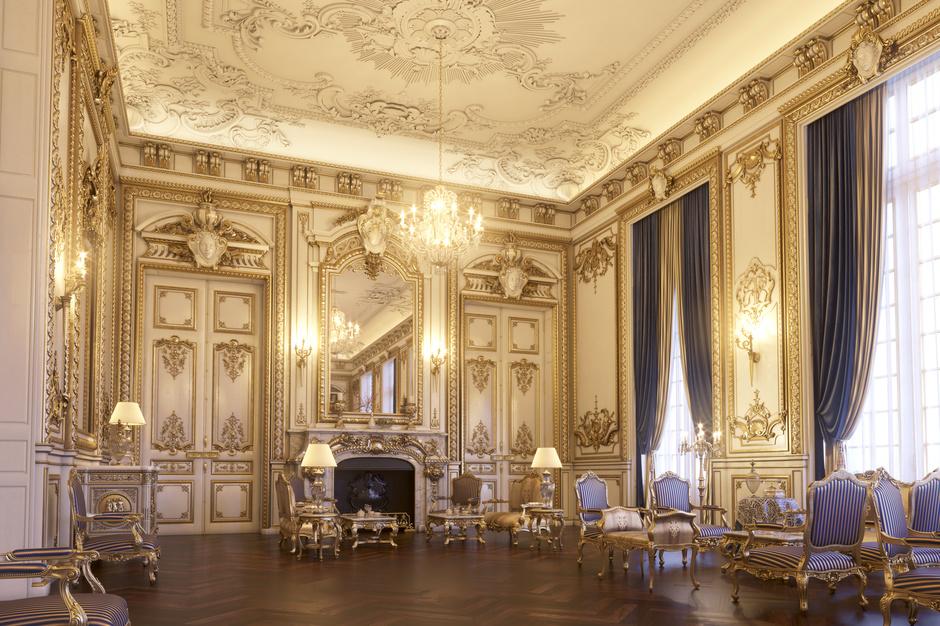 Le Grand Salon at  Shangri-La Paris , photo courtesy of the hotel's website.